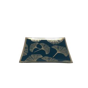 Plat décoratif Métal 10x14x37 cm 680611
