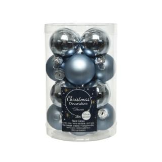 Boîte Mini-Boules Verre Émaillé Ø3,5 cm 680899
