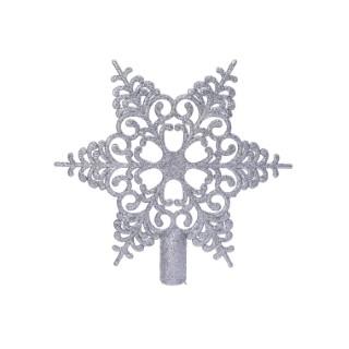 Cimier Plastique Flocon 0,3x20,5x19 cm 680917