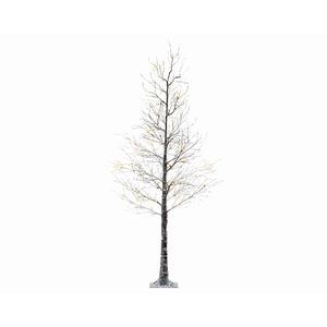 Arbre de Noël Marron avec LED – 240 cm 681121