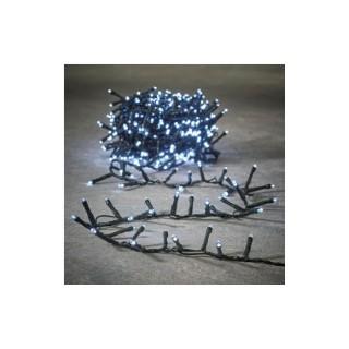 Guirlande lumineuse Snake light 550 LED blanc froid 1100 cm 681651