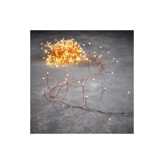 Guirlande lumineuse Snake light cuivre 240 LED blanc classic 600 cm 681734