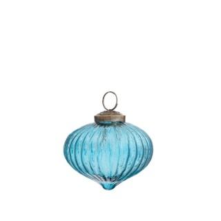 Boule Forme Oignon Verre 7x8 cm 682167