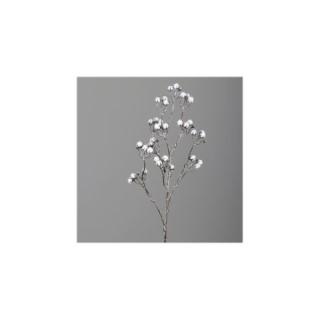 Branche glacée coton H74 cm 682711