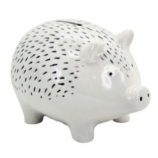 Tirelire pour enfants cochon en céramique 17cm 683191