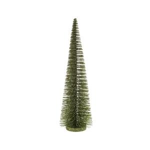 Sapin décoratif vert pailleté - H 45 cm 683644