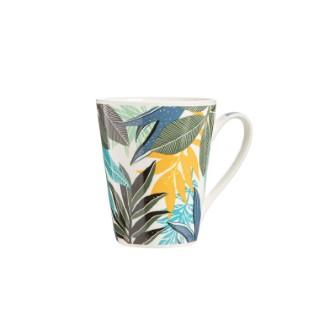 Mug amazonia multicolore en porcelaine de 32 cl 683687