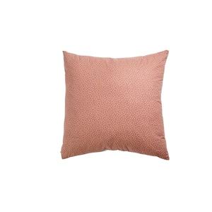 Coussin myosotis rose en coton et polyester 60 x 60 cm 683832