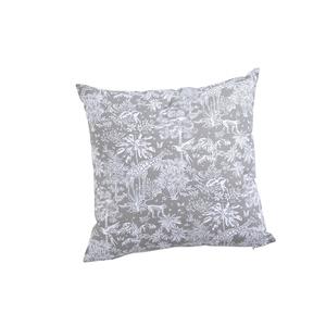 Coussin gazelle gris en coton 40 x 40 cm 683840