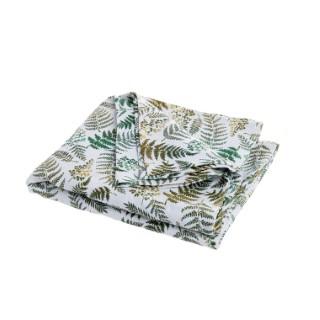 Nappe Jacquard Fougère Coton/ Polyester 150x150 cm 683852