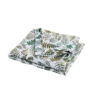 Nappe Jacquard Fougère Coton/ Polyester 150x200 cm 683853