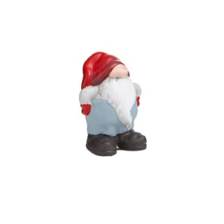 Père-Noël gros nez à poser 684028
