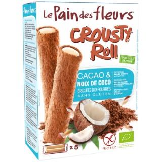 Crousty roll choco coco en boîte carton de 125 g 684312
