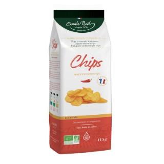 Chips au Piment d'Espelette bio en sachet de 115 g 684322
