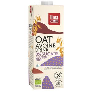 Boisson avoine bio 0% de sucre en brique de 1 L 684438
