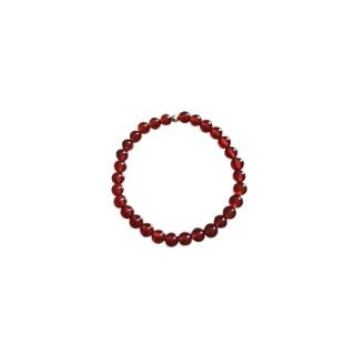 Bracelet agate cornaline unie 8mm 685043