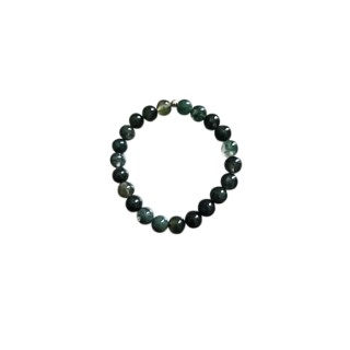 Bracelet agate mousse 4mm 685044