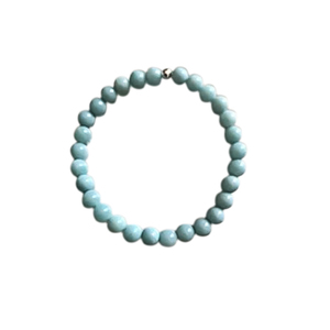 Bracelet amazonite unie 4mm 685047