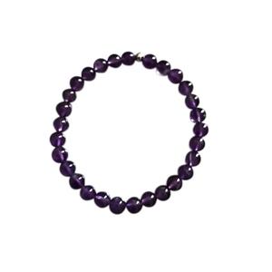 Bracelet améthyste 4mm 685050