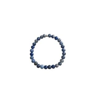 Bracelet aventurine bleue 4mm 685053