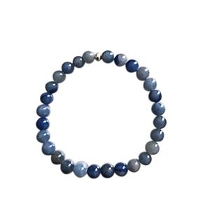 Bracelet aventurine bleue 6mm 685054