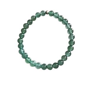 Bracelet aventurine verte 4mm 685056