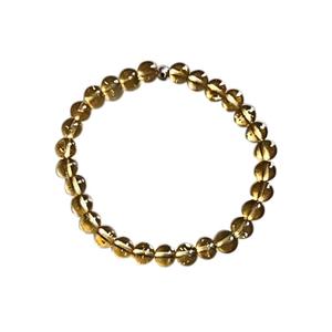 Bracelet citrine 6mm 685060