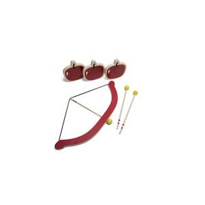 Arc et flèches Bow and Arrow rouges en bois 686147
