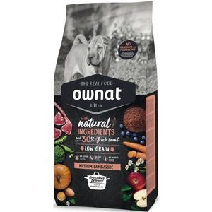 Croquettes pour chien Ultra Medium agneau et riz 3 kg 686589