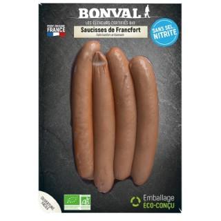 Saucisses de Francfort sans sel nitrité - 200 gr 686785