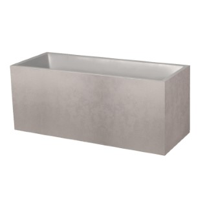 Jardinière Basalt gris béton 99,5x39,5x43,5 cm 689969