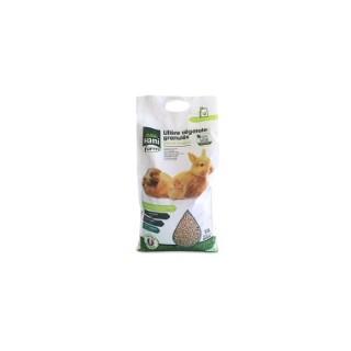Litière végétale en granulés pour rongeurs. Le sac de 10 litres 691416