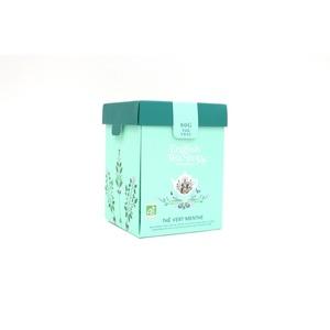 Thé Vert à la menthe bio - boite de 80 g 691798