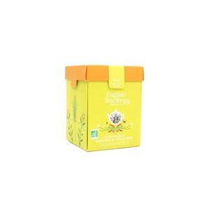 Infusion citronnelle gingembre et agrumes bio - boite de 80 g 691803