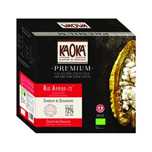 Palets de chocolat noir 72 % de l'Équateur - Prix au kilo 692623