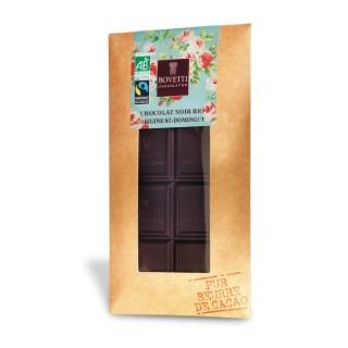 Chocolat Noir Décor Noël tablette 100g 694183