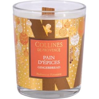 Bougie parfumée Collines de provence senteur Pain d'Épices 75g 694301