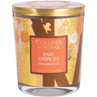 Bougie parfumée Collines de provence senteur Pain d'Epices 180g 694309
