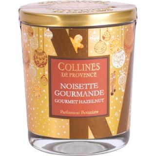 Bougie parfumée Collines de provence senteur Noisette Gourmande 180g 694310