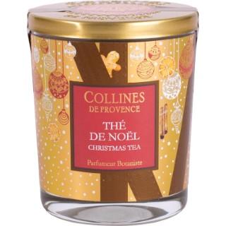 Bougie parfumée Collines de provence senteur Thé de Noël 180g 694311