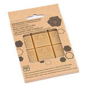 Cubes x 12 de cire d'abeille pour emballage alimentaire 8,5x11,5 cm 694356