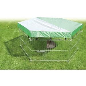 Filet de l'ombre pour cage à lapins Ø60 cm 694829