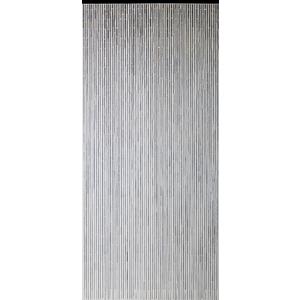 Rideau de porte taupe 200 x 90 cm 694890