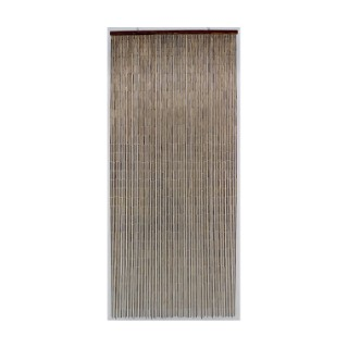 Rideau de porte acajou 200 x 90 cm 694893