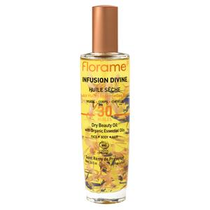 Huile Sèche Infusion Divine flacon pompe spray 100 ml 695068