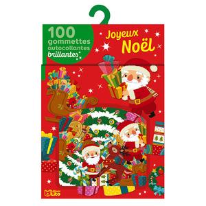 Mes 100 gommettes brillantes joyeux Noël éditions Lito 695497