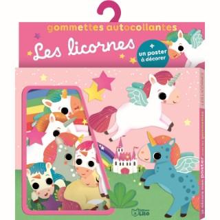 Je décore mon poster avec les gommettes – Les Licornes 695502