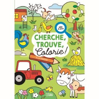 Cherche, trouve et colorie – À la ferme 695511