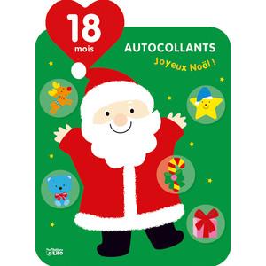Les autocollants qui font grandir joyeux Noël éditions Lito 695516