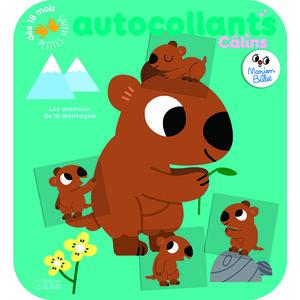 Autocollants Câlins Les animaux de la montagne. Editions Lito 695518